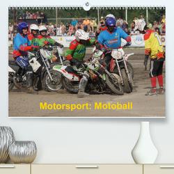 Motorsport: Motoball (Premium, hochwertiger DIN A2 Wandkalender 2021, Kunstdruck in Hochglanz) von Heimar,  Foto