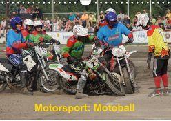 Motorsport: Motoball (Wandkalender 2019 DIN A4 quer) von Heimar,  Foto