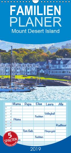 Mount Desert Island Acadia National Park und Bar Harbor – Familienplaner hoch (Wandkalender 2019 , 21 cm x 45 cm, hoch) von Styppa,  Robert