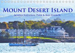 Mount Desert Island Acadia National Park und Bar Harbor (Tischkalender 2019 DIN A5 quer) von Styppa,  Robert
