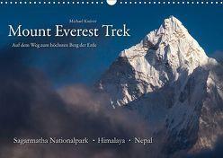 Mount Everest Trek (Wandkalender 2019 DIN A3 quer) von Knüver,  Michael