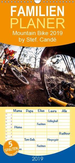 Mountain Bike 2019 by Stef. Candé – Familienplaner hoch (Wandkalender 2019 , 21 cm x 45 cm, hoch) von Candé,  Stef.