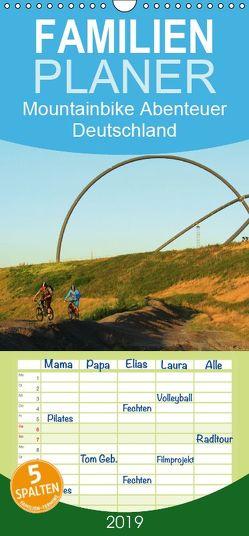Mountainbike Abenteuer Deutschland – Familienplaner hoch (Wandkalender 2019 <strong>21 cm x 45 cm</strong> hoch) von Rotter,  Matthias