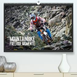 Mountainbike Freeride Momente (Premium, hochwertiger DIN A2 Wandkalender 2021, Kunstdruck in Hochglanz) von Meutzner,  Dirk
