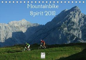 Mountainbike Spirit 2018 (Tischkalender 2018 DIN A5 quer) von Rotter,  Matthias