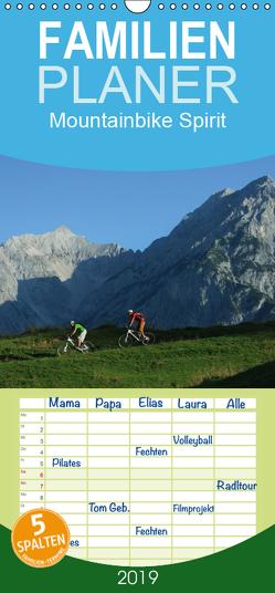 Mountainbike Spirit – Familienplaner hoch (Wandkalender 2019 , 21 cm x 45 cm, hoch) von Rotter,  Matthias