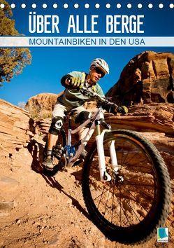 Mountainbiken in den USA – Über alle Berge (Tischkalender 2019 DIN A5 hoch) von CALVENDO