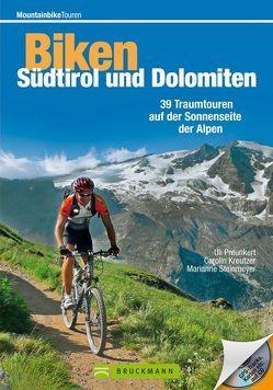 Biken Südtirol und Dolomiten von Kreutzer,  Carolin, Steinmeyer,  Marianne, ULP GmbH,  Uli
