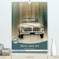 Move and Art – Kreative Fotokunst (Premium, hochwertiger DIN A2 Wandkalender 2021, Kunstdruck in Hochglanz) von Steiner und Matthais Konrad,  Carmen