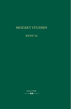 Mozart Studien Band 26 von Schmid,  Manfred Hermann