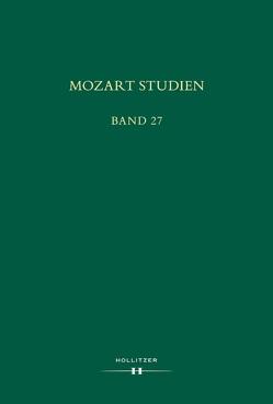 Mozart Studien Band 27 von Jonášová,  Milada, Schmid,  Manfred Hermann, Volek,  Tomislav