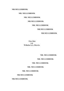 Mr. Mellerbook von Diercks,  Wilhelm G.A.