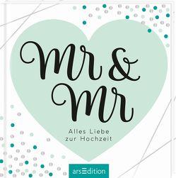 Mr & Mr – Geschenkidee für gleichgeschlechtliche Paare / zur Ehe für alle