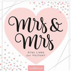 Mrs & Mrs – wunderschöne Geschenkidee für ein lesbisches Paar / zur Ehe für alle