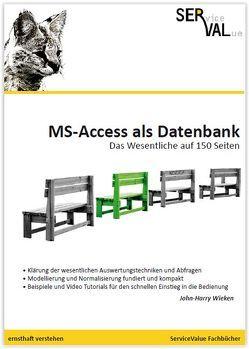 MS-Access als Datenbank von Wieken,  John-Harry
