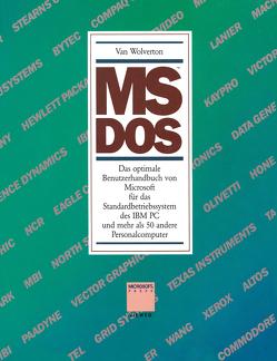 MS™ DOS von Wolverton,  Van