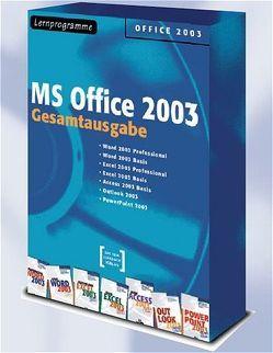 MS Office 2003 Gesamtausgabe – Lernprogramme/Digitale Seminare von Hunger,  Lutz