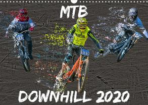 MTB Downhill (Wandkalender 2020 DIN A3 quer) von Picfiart