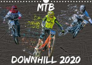 MTB Downhill (Wandkalender 2020 DIN A4 quer) von Picfiart
