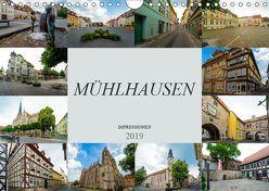 Mühlhausen Impressionen (Wandkalender 2019 DIN A4 quer) von Meutzner,  Dirk