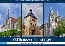 Mühlhausen in Thüringen – Stadt im Herzen Deutschlands (Wandkalender 2020 DIN A2 quer) von Rein,  Markus