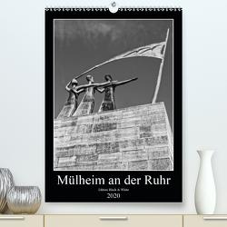 Mülheim an der Ruhr Edition Black & White 2020 (Premium, hochwertiger DIN A2 Wandkalender 2020, Kunstdruck in Hochglanz) von Hebgen,  Peter