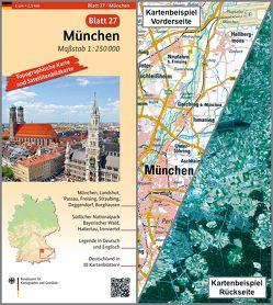 München von BKG - Bundesamt für Kartographie und Geodäsie