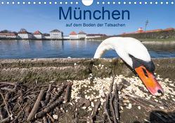 München auf dem Boden der Tatsachen (Wandkalender 2021 DIN A4 quer) von Becke,  Herbert