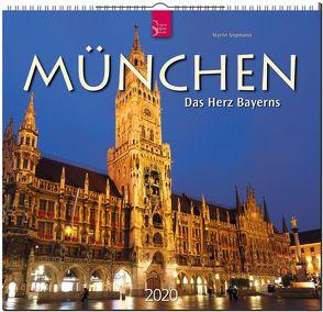 München – Das Herz Bayerns von Siepmann,  Martin