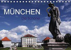 München – Die Schöne (Tischkalender 2018 DIN A5 quer) von boeTtchEr,  U