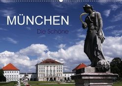 München – Die Schöne (Wandkalender 2018 DIN A2 quer) von boeTtchEr,  U