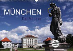 München – Die Schöne (Wandkalender 2018 DIN A3 quer) von boeTtchEr,  U