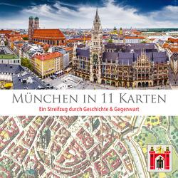 München in 11 Karten von Jarvers,  Helmut