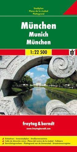 München, Stadtplan 1:22.500
