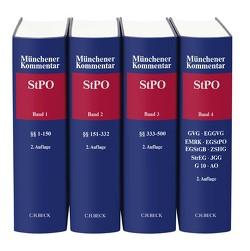 Münchener Kommentar zur Strafprozessordnung Gesamtwerk von Knauer,  Christoph, Kudlich,  Hans, Schneider,  Hartmut