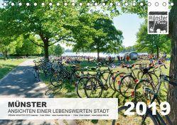 MÜNSTER :: Ansichten einer lebenswerten Stadt (Tischkalender 2019 DIN A5 quer) von Kubisch,  Chris