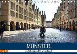 Münster – die liebenswerte Fahrradstadt (Tischkalender 2019 DIN A5 quer) von Bartruff,  Thomas