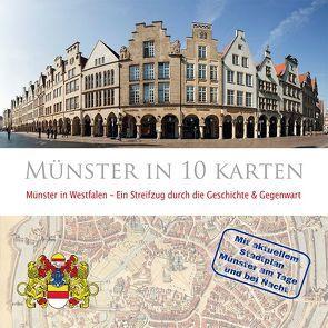Münster in 10 Karten von Jarvers,  Helmut