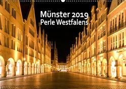 Münster – Schönheit Westfalens (Wandkalender 2019 DIN A2 quer) von Budde / FOTORIST.EU,  Matthias