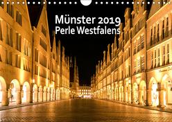 Münster – Schönheit Westfalens (Wandkalender 2019 DIN A4 quer) von Budde / FOTORIST.EU,  Matthias