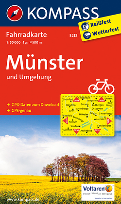 Münster und Umgebung von KOMPASS-Karten GmbH