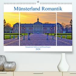 Münsterland Romantik – Romantische Schlösser und Wasserburgen (Premium, hochwertiger DIN A2 Wandkalender 2020, Kunstdruck in Hochglanz) von Michalzik,  Paul