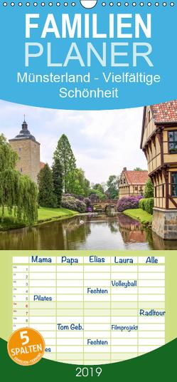 Münsterland – Vielfältige Schönheit – Familienplaner hoch (Wandkalender 2019 , 21 cm x 45 cm, hoch) von Becker,  Thomas
