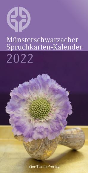 Münsterschwarzacher Spruchkarten-Kalender 2022
