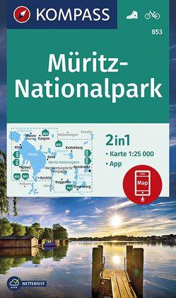 Müritz-Nationalpark von KOMPASS-Karten GmbH
