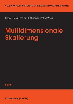 Multidimensionale Skalierung von Borg,  Ingwer, Groenen,  Patrick J, Mair,  Patrick
