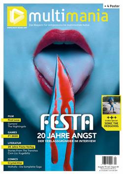 multimania – Das Magazin für zeitgenössische multimediale Kultur von Knittel,  Patric, Sülter,  Björn