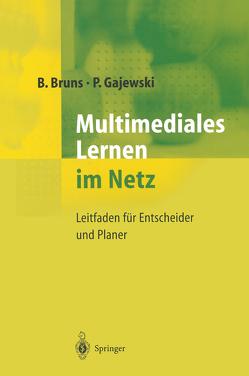 Multimediales Lernen im Netz von Bruns,  Beate, Gajewski,  Petra