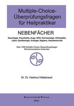 Multiple-Choice-Fragen für Heilpraktiker Nebenfächer von Hildebrand,  Hartmut