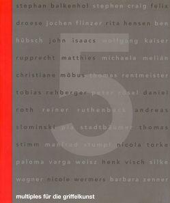 multiples für die griffelkunst von Bunk,  Stephanie, Busch,  Ralf, Masbaum,  Dirk, Peters,  Britta, Rüggeberg,  Harald